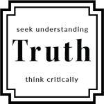 Truth Seek Understanding Think CriticallySparkle with Sara Values